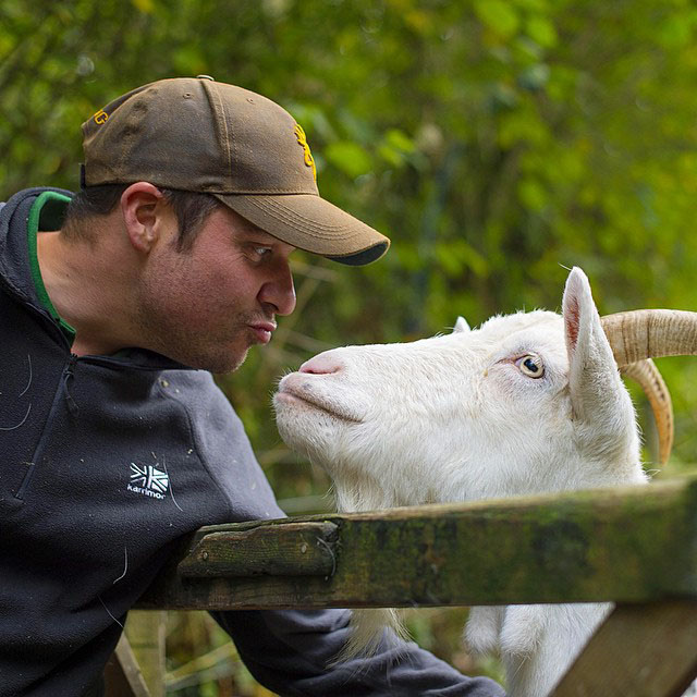 Dave and the Goat